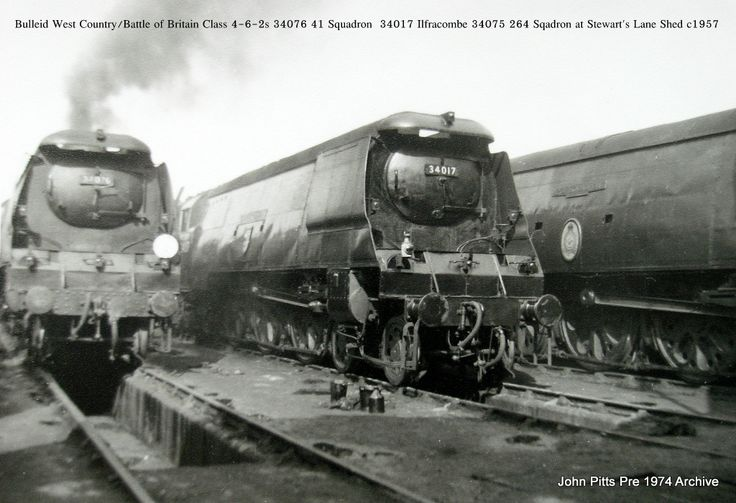 Battle of Britain class Locomotives No. 34017 and 34076