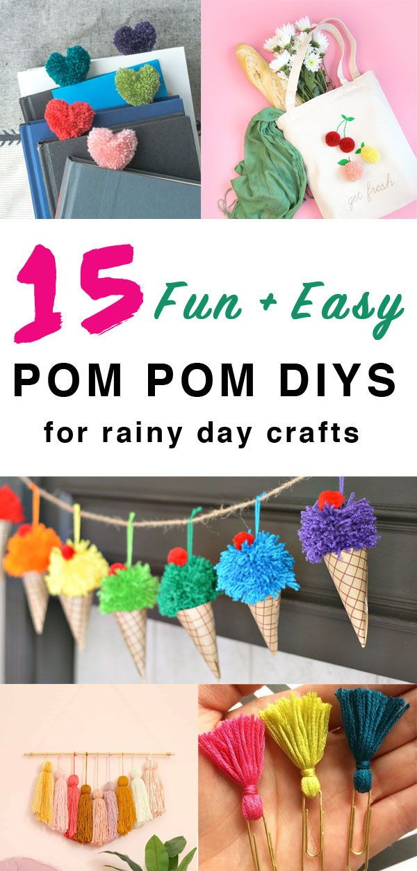 15 Fun And Easy Pom Pom Crafts To Do With Toddlers And Kids Pom