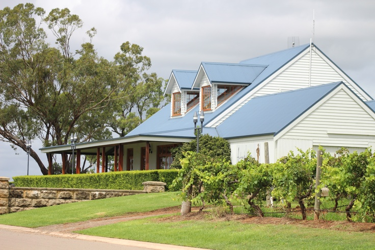 The lovely Audrey Wilkinson Cellar Door in the Hunter Valley. Some of the finest…