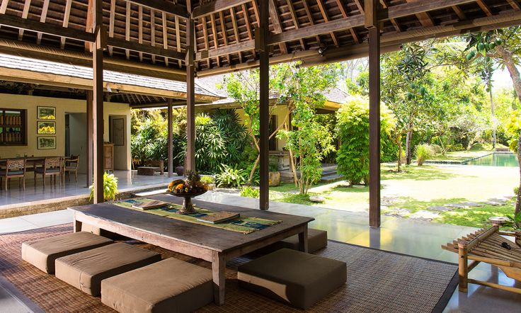 Belong Dua, Seseh Tanah-Lot, Bali. Enchanting, 2-bedroomed villa rests in the heart of a rural village, five minutes' walk from the beach, yet only 30 minutes' drive from the cosmopolitan glamour of Seminyak. Fully staffed, with a beautiful garden and generous swimming pool.