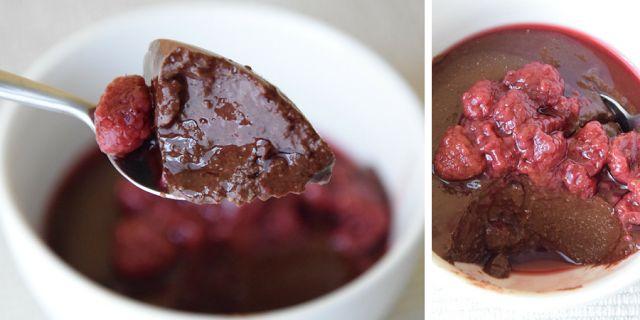 czekoladowy budyń jaglany, bez glutenu, bez mleka, wegański