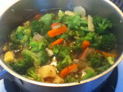 Quick And Easy Vegetable Soup Recipe — Dishmaps