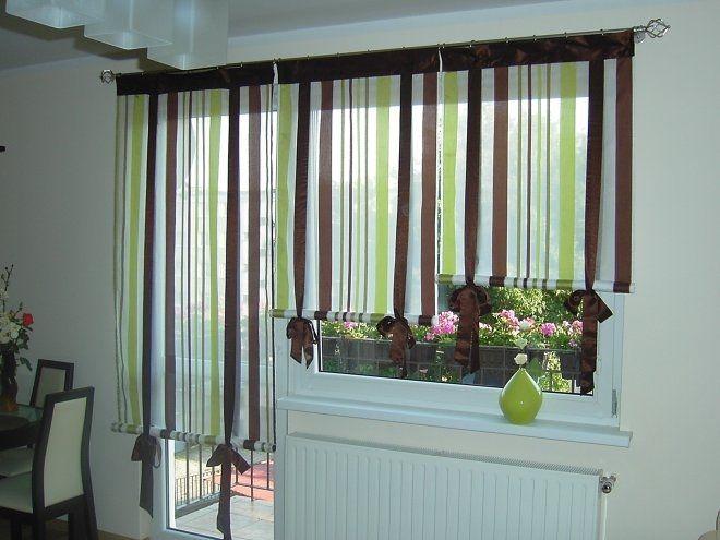 Шторы на кухню с балконной дверью: фото с идеями 2016 года