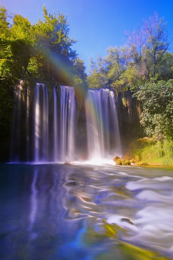 Duden Waterfalls, Antalya, Turkey Photograph  - Duden Waterfalls, Antalya, Turkey Fine Art Print