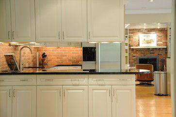 Robinson Thin Veneer Brick Backsplash Design Ideas