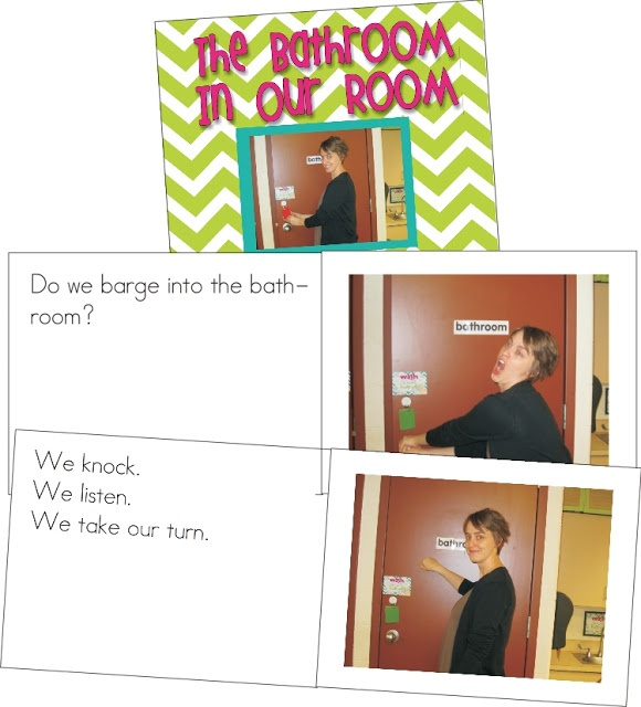 Create social stories to model classroom procedures for the beginning of the year.