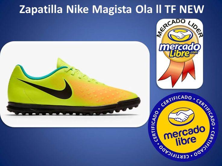 Deportivos Fair Play: Zapatillas Nike Magistax Ola Ll Tf Futbol New