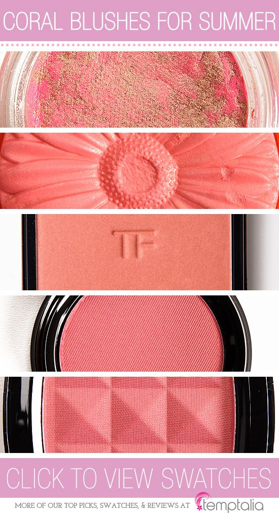 5 Coral Blushes to Try This Summer