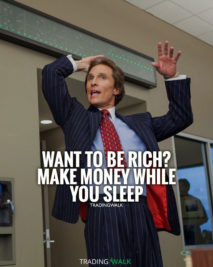 want to be rich make money while you sleep millionaire on wall street today id=41339