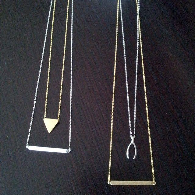 Jolie & Deen necklaces $35 each