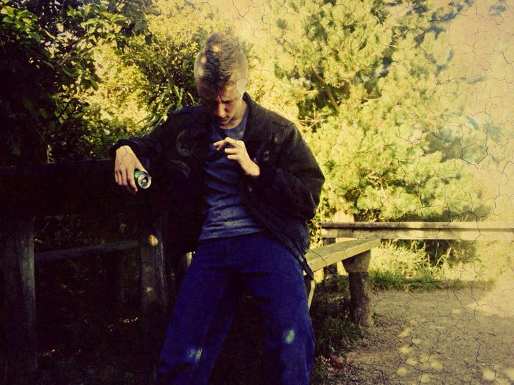 Ethan contemplating stuff... Again, on one tree hill
