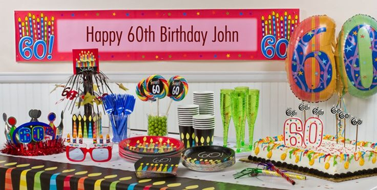 29 best images about 60th birthday party ideas on for 60th party decoration ideas