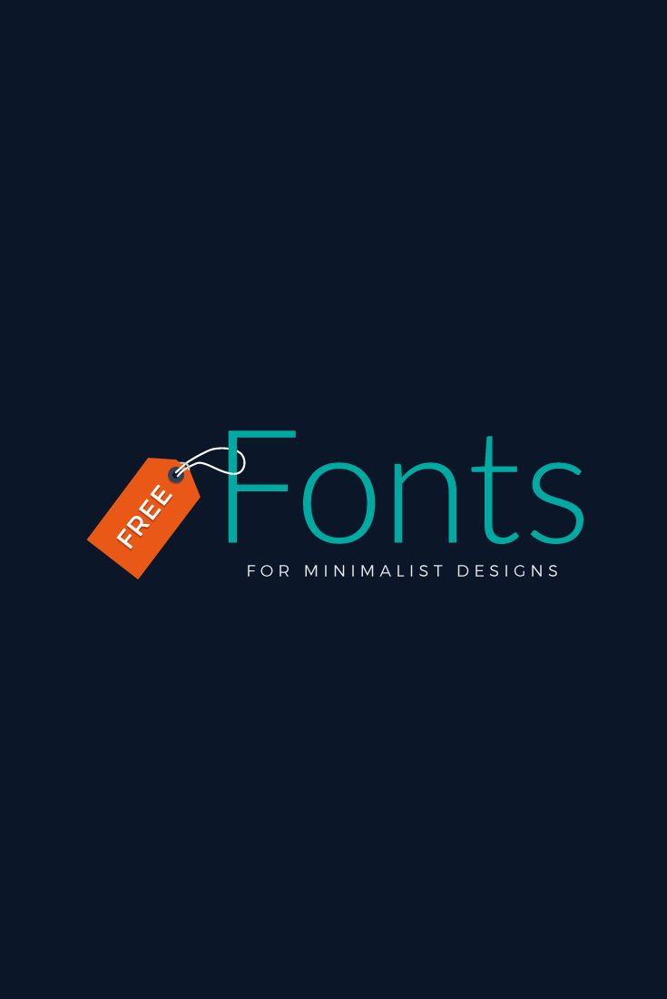 60 Free Fonts for Minimalist Designs