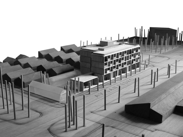 Model architecture student, Old people home  DQ Arq.