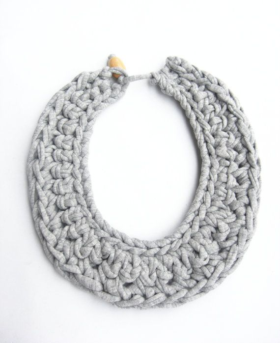 Best 25+ Knitted necklace ideas on Pinterest