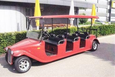 Beckers Golf Cart Handel -   - Ligier - Yamaha - WSM Mitsubishi - E-Z-GO - Club Car - *** Sonderverkauf Ausstellungsfahrzeuge *** WSM Mitsubishi Roadster 260 NEUFAHRZEUG Sechssitzer Golf Cart / Golfcar
