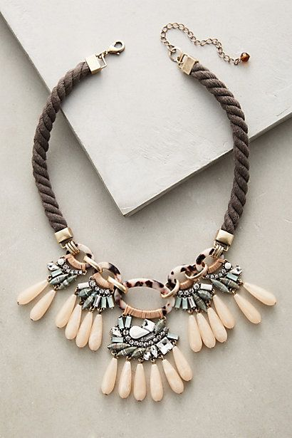 Desideria Bib Necklace #anthropologie
