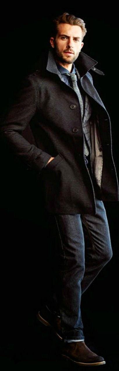 Urban Style, Men's Fall Winter Fashion.