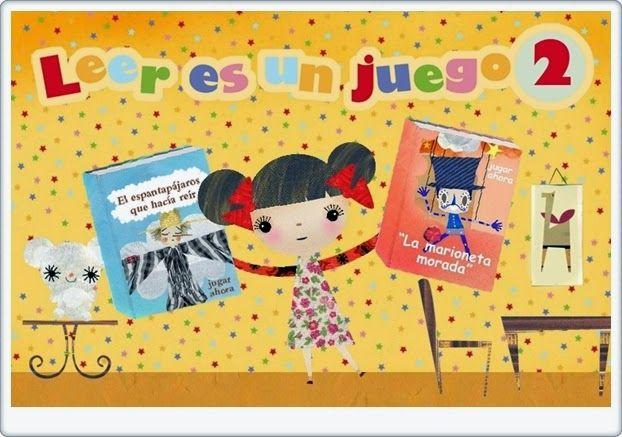 """""""Leer es un juego 2"""", de discoverykids, continuación de """"Leer es un juego"""", también en este blog, es una pequeña actividad en la que se cuentan dos cuentos, de forma verbal, audiovisual y también interactiva, ya que los niños colaboran en la lectura corrigiendo expresiones gramaticales incorrectas o realizando acciones que faltan en el texto. Promueve el aprendizaje de la lectura, la iniciación al conocimiento literario y la actitud positiva hacia la lectura de cuentos."""