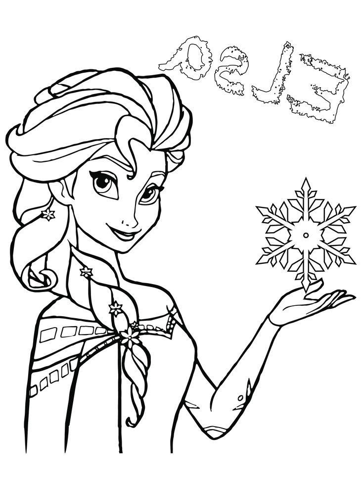 coloriage a imprimer gratuit elsa la reine des neiges new coloriage reine des neiges imprimer ...