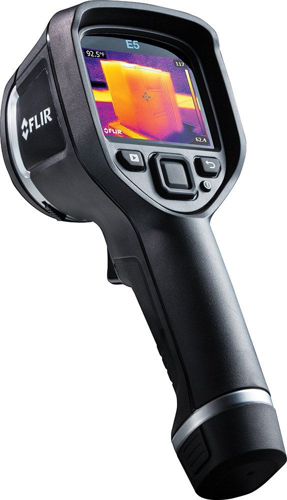 FLIR E5 Compact Thermal Imaging Camera with 120 x 90 IR Resolution and MSX