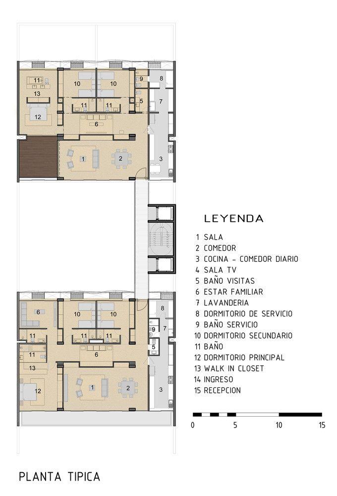 Galería de Arquitectura colectiva y de baja densidad: 10 edificios de departamentos en Lima, Perú - 25