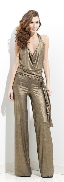 Gold Sequin Jumpsuit                                                                                                                                                     More