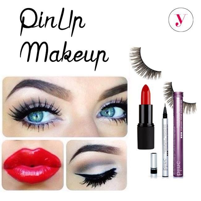 Lo stile da PinUp non passa mai di moda! Cosa ti serve per realizzarlo? Eyeliner, rossetto rosso e ciglia finte extra voluminose per sguardi seducenti, da vera gatta! http://www.vanitylovers.com/?utm_source=pinterest.com&utm_medium=post&utm_content=home&utm_campaign=pin-vanity