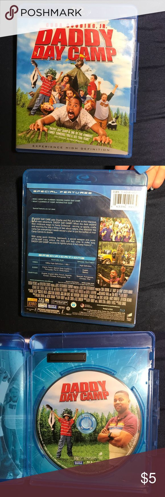 Daddy Day Camp Blu-Ray Disc A Cuba Gooding Jr funniest comedy blu-ray DVD movie. No scratches. Blu-Ray Disc Other
