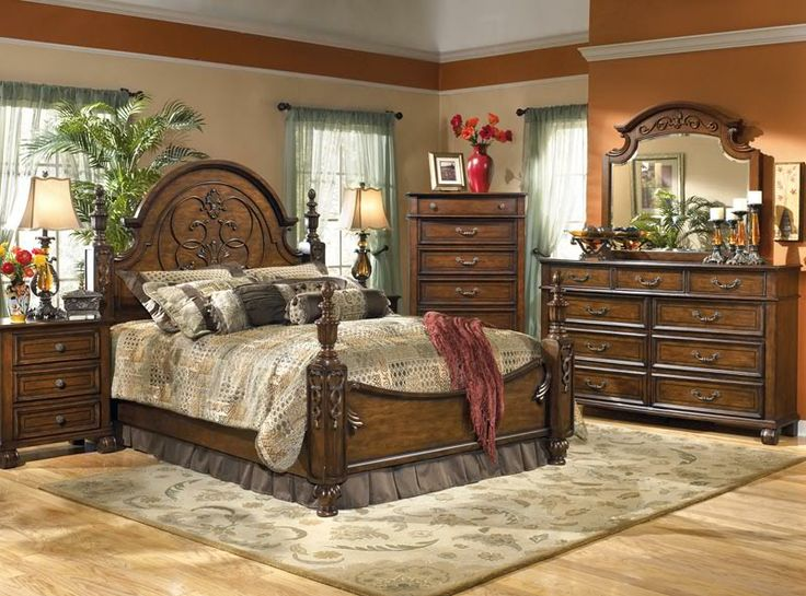 Luxury Traditional Bedroom Furniture Sets Decorating Ideas With Wooden Furniture Design