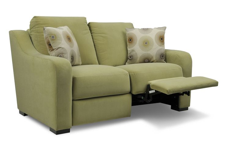 Astoria Fab Dual Reclining Loveseat -- not this color but love that it isn't one of those big monstrosities.