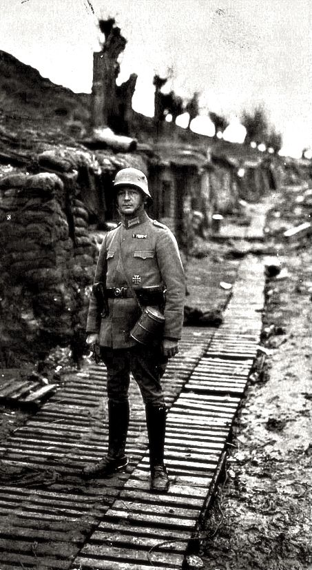 WWI, German soldier