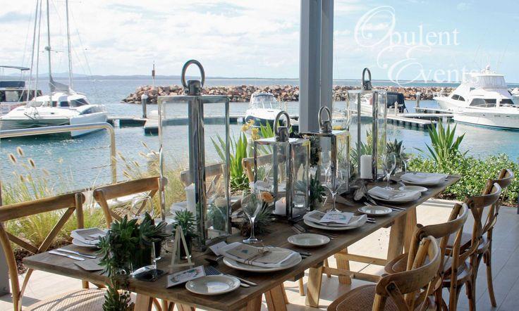 Rustic Coastal Wedding Styling
