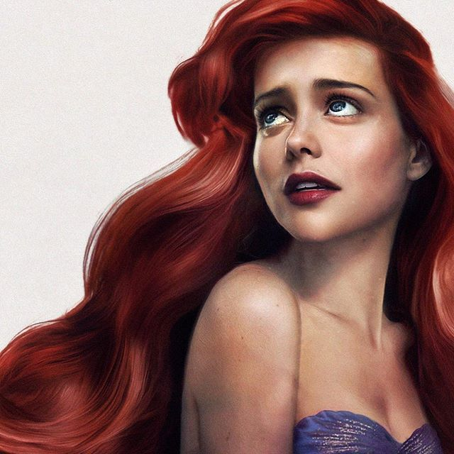This artist shows what Disney princesses (and princes!) would look like IRL