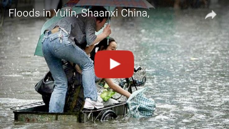 Another City In Yulin, China, With The Same Name As The Infamous Yulin Dog Meat Festival Is Underwater