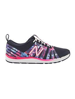 Athleta Superimpose 811 By New Balance - fabulous floral crosstrainer workout shoes