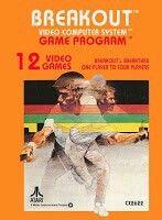 "Juego para la consola Atari 2600 ""  BREAKOUT ""  ( CX - 2621)"