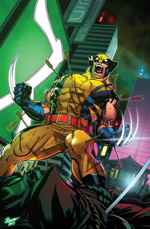 Wolverine Tokyo - Ed McGuinness
