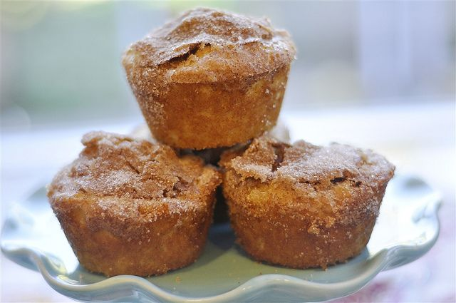 Snickerdoodle Muffins by yourhomebasedmom, via Flickr