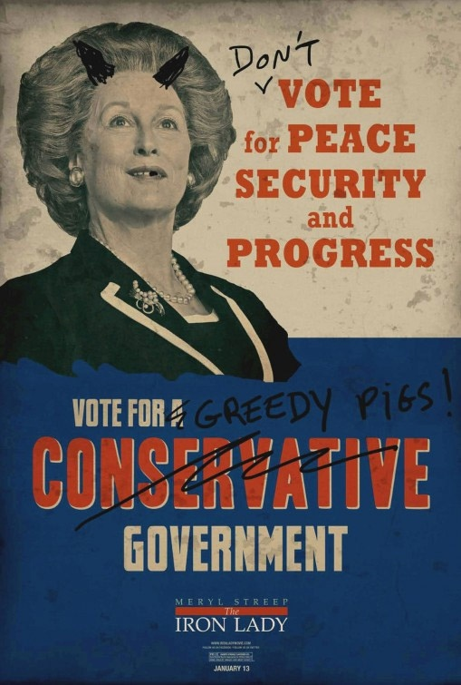 """""""The Iron Lady"""" - Marketing campaign for the US Market (1)"""