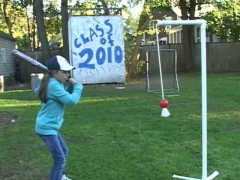 SOFTBALL BATTING PRACTICE AIDE FOR GIRLS & BOYS 10 thousand hours practice tool,, Joe Practic™ - YouTube