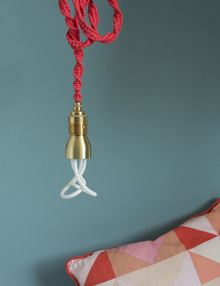The Base Cover is designed to match your Plumen bulb to any lamp holder. Made from spun metal and available in brass, chrome and white, the cover simply slips o