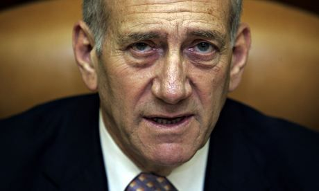 Former Israeli PM Ehud Olmert handed six-year jail sentence (& in India!!)... Olmert, 68, found guilty of taking bribes in a real estate deal that took place during his time as mayor of Jerusalem