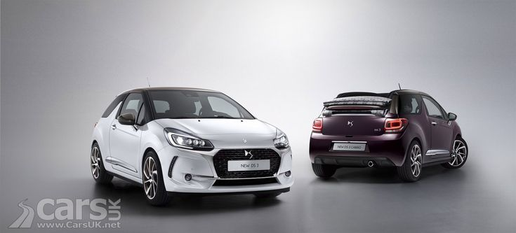 The DS 3 and DS 3 Cabrio are facelifted for 2016, with new styling for Citroen's most successful DS model, as well as new engines and equipment.