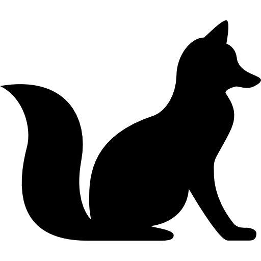 Fox Sitting free vector icons designed by Freepik | Animal ...