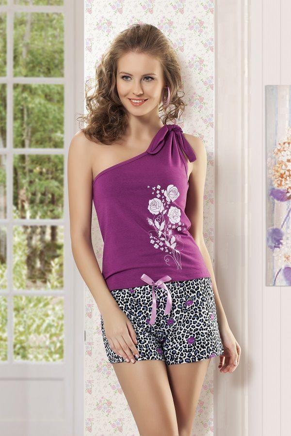 Maranda İç Giyim Şortlu Pijama Takımı