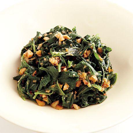 モロヘイヤのみそあえ | コウ静子さんのおつまみの料理レシピ | プロの簡単料理レシピはレタスクラブニュース