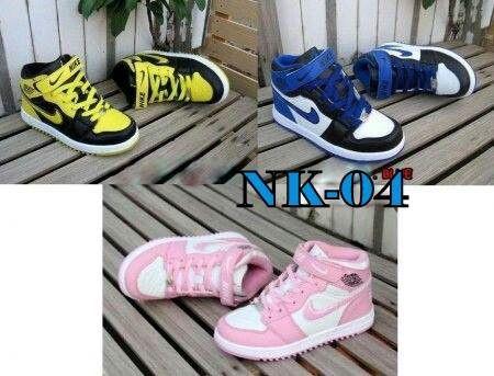 [PRE-ORDER Nike IMPORT] # KODE : NK-04 (Pink,Blue,Yellow) @Rp.260.000,- Detail Size : 31(20cm)-32(20,5cm)-33(21cm)-34(22cm)-35(22,5cm)-36(23cm)-37(24cm)  Ketentuan (PO) : - RETAIL tidak ada minimum order - GROSIR min.6psg bole mix model,warna dan size, harga kurangi 25rb/psg - PO ditutup Tgl.10 Maret,brg tiba pertengahan April (pertimbangkan keterlambatan) - DP min.50%,sisanya dilunasi saat brg ready, brg dikirim setelah lunas - Harga blm termasuk ongkos kirim - NO CANCEL, cancel DP hangus…