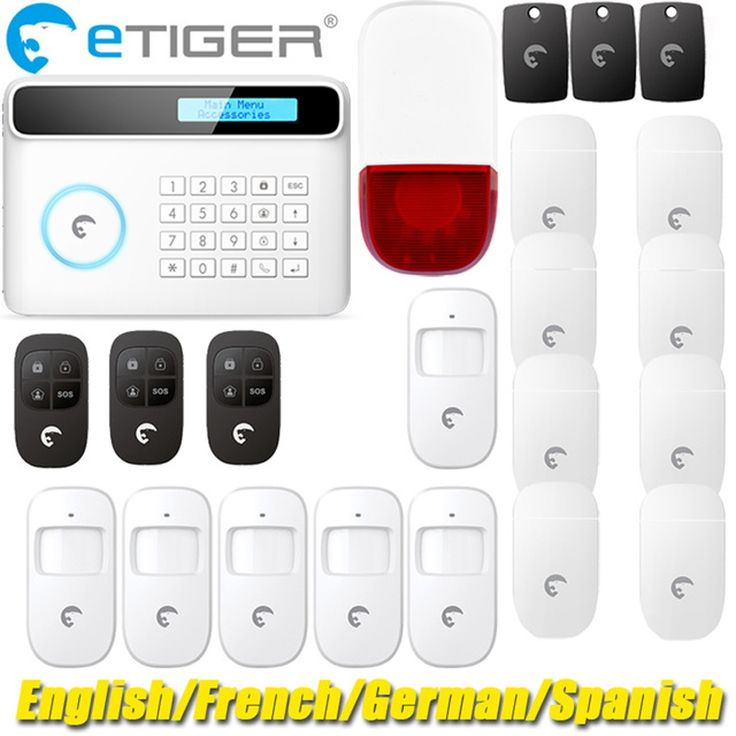 (379.00$)  Buy here - http://aipq3.worlditems.win/all/product.php?id=32438621767 - Best Made-in-China home security alarm system gsm sms eTiger alarm S4