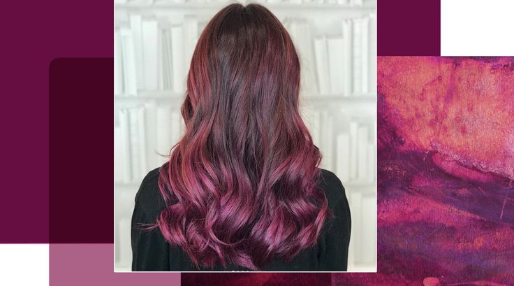 Pagenta – eine Mischung aus Purple und Magenta – ist die neue Trend-Haarfarbe im Winter 2017.